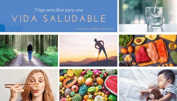 7 tips de vida saludable