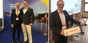 Doctor J Pujol en el 2º congreso de obesidad de Lyon 2019