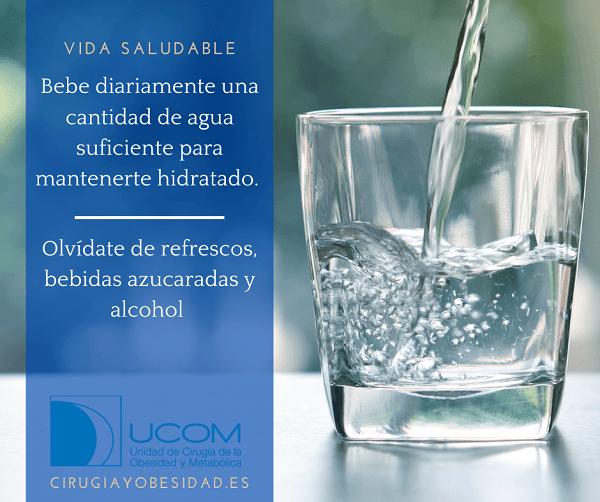 Vida saludable: consumo de líquidos